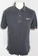 GIO-GIO Mens Black Polo Shirt Size Medium
