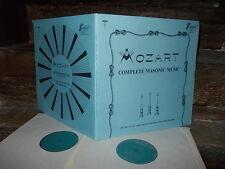 MOZART: Complete Masonic music=Freimauer Musik > Vienna Maag /Vox USA stereo exc