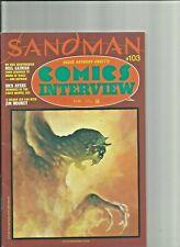 Comics Interview Neil Gaiman Sandman Issue #103