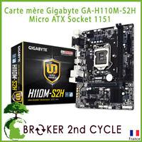 Carte mère Gigabyte GA-H110M-S2H Micro ATX Socket 1151