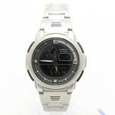 Casio AQF102WD-1B Mens Digital Stainless Steel Sports Thermometer Watch NEW 100M