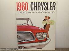 Folder/Brochure 1960 Chrysler Windsor Saratoga & New Yorker *4892