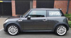 Pair Of Mini Cooper / S R56 Side window Stripes Vinyl Graphics Decal union jack