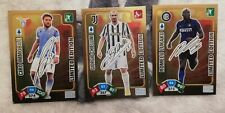 PANINI ADRENALYN XL 2020 2021 21 - Le  3 CARD LIMITED EDITION FIRMATE ORO