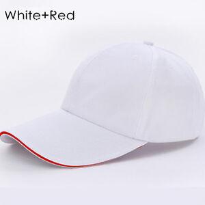 18 Color Men Women  Black Baseball Cap Snapback Hat Hip-Hop Adjustable Bboy Caps