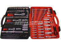 """219 piece NEILSEN socket set tool spanner 1/4"""" 3/8 1/2"""" drive"""