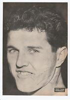 TERRY PAINE ENGLAND 1963-1966 WORLD CUP WINNER 66 ORIG SIGNED MAGAZINE CUTTING