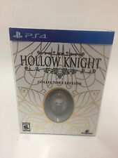 Hollow Knight Collector's Edition (Sony PlayStation 4) PS4 Gold Foil Art New