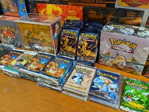 Pokemon Mystery Box, Vintage WOTC Cards, ETBs, Sealed Booster Packs, Tins!!!