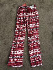 Christmas / Xmas Pjamas / PJ's Regular Leg Red & White Size 6 /8 BNWT