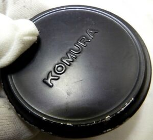 Komura 55mm rim Front Lens Cap Slip on