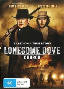 LONESOME DOVE CHURCH - TOM BERENGER - NEW & SEALED REGION 4 DVD