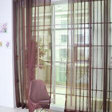 Vorhang Gardine Fenster Gardinenschal Fensterschal Panel Vorhänge 200x100cm