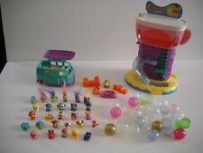 Lot of 27 Squinkies with bubbles, Coaster Cafe, Accessories