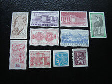 TCHECOSLOVAQUIE - 10 timbres n** (A13)  stamp czech
