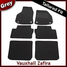 Vauxhall Zafira B / Mk2 2005-2014 3-Rows Tailored Carpet Car Floor Mats GREY