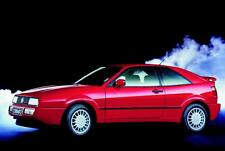 Blechschild, Tin Sign,  20 x 30 cm, VW Corrado, Nostalgie