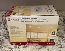 Utilitech White 3 inch GU10 Gimbal Kit Lighting Kit 16059 NEW in Box