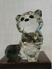 Swarovski Figurine - Alexander The Cat, Retired, 119917, Mib W/Pamphlet, Lovlots
