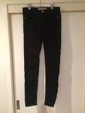 Zara Trafaluc Ladies Black Slim Jeans Size US04 Good Condition