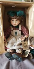 """Yesterdays Child Doll Collection #4919 """"Jean with nutmeg the bakers"""" Boyds Bears"""