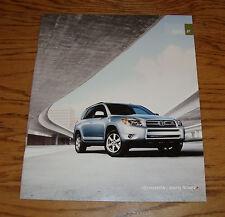 Original 2007 Toyota RAV4 Sales Brochure 07