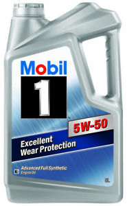 Mobil 1 FS X2 5W-50 Full Synthetic Engine Oil 5L 140530