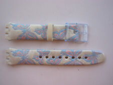 SWATCH CINTURINO x Gent GARDEN PARTY - GN219 - 2005 - NUOVO  strap band