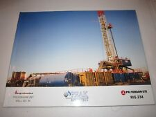 PEAK ROYALTIES RIG 234 WELL 1H OIL COMPANY BOOK - 45 PAGES OF PHOTOS -LARGE BOOK