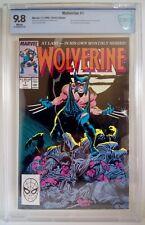 Wolverine #1 CBCS 9.8 Marvel 1988 Chris Claremont - John Byrne Pin-Up Direct Ed.