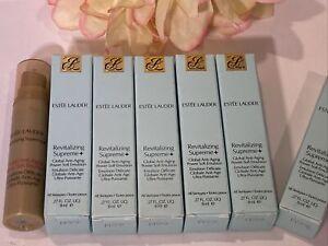 Estee Lauder Revitalizing Supreme+ Global Anti-Aging Power Emulsion .27 x6 = 1.6