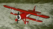 1931 Stearman Biplane. diecast metal. Rare, Bank, aircraft. # Wings of Texaco