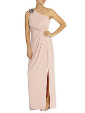 COAST LIGHT PINK MAXI DRESS WITH A BOW SIZE XL UK 16 - 18