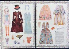 Mary Paper Doll by Vivien Deslandes Mustakos, 2011 Doll News Mag.
