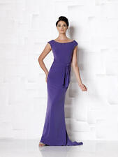 Cameron Blake by Mon Cheri 113624--Color: Silver--Size 14- Mother of the Bride