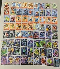 Marvel Legends 2001 Full Set of 72 Cards Topps With Plastic Case