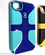 Speck Apple iPhone 4 4s Schutzhülle CandyShell Grip Blue/Green Cover Slim Schale Bumper