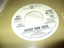 "DEEP PURPLE ""WOMAN FROM TOKYO"" 7"" USA PROMO"