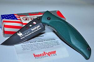 Kershaw 1560RM Rocky Mountain Elk Foundation Whirlwind  Knife Plain Edge MAY 02