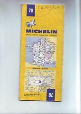 Carte Routière Michelin 70 - beaune evian  1/200 000