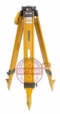 SOKKIA HEAVY-DUTY WOOD TRIPOD,SURVEYING,TRIMBLE,TOPCON,SECO,GPS,ROBOTIC,LEICA