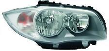 Faro fanale anteriore Destro BMW Serie1 E87 04-07 VALEO H7+H7 per reg elettrica