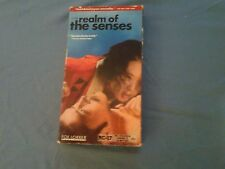 Rare VHS film IN THE REALM OF THE SENSES Japanese SEX Subtitled OOP Foreign