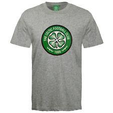 Celtic FC Official Football Gift Mens Crest T-Shirt