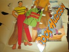Vintage Paper Dolls~Movie Star~Rock Hudson with Clothes