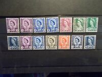 GB 1958-71 Regionals Collection~Wales~(14)~Unmounted Mint~UK Seller