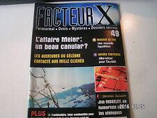 ** Facteur X ovnis n°49 Billy Meier histoire d'un faussaire / Le masque de fer