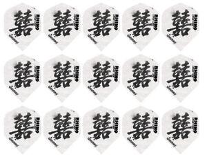5 New Sets Winmau Rhino Standard 100 Micron Dart Flights – Chinese Symbol