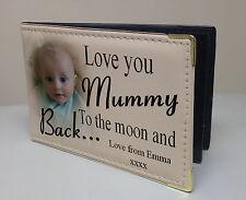 "Personalised photo album, 36 x 6x4"" photos, Love you Mummy, birthday present."