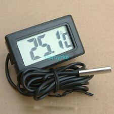 Brew Digital Probe Embedded Thermometer Fridge Freezer Keg Beer Tap Aquarium -55